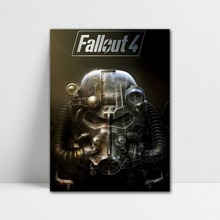 Poster A4 Fallout 4 - PT395