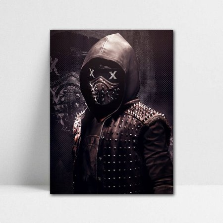 Poster A4 Watch Dogs 2 - PT401