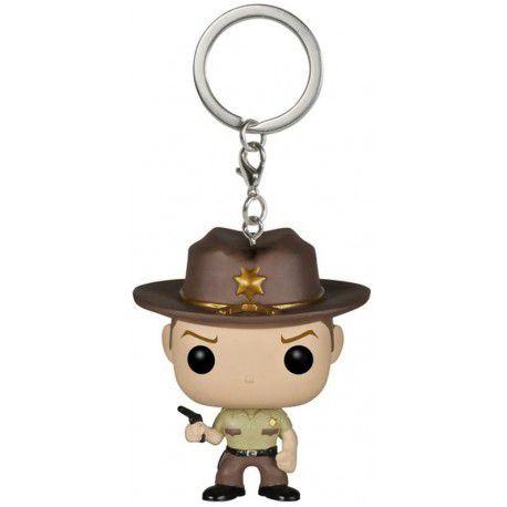 Chaveiro Rick Grimes - The Walking Dead - Pocket Pop Keychain