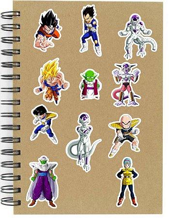 Adesivos Dragon Ball Set D - Saga Freeza - 12 unid