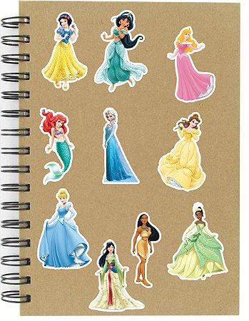 Adesivos Princesas Disney Set A - 10 unid