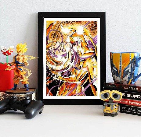 Quadro Decorativo Athena - Cavaleiros do Zodíaco - QV491
