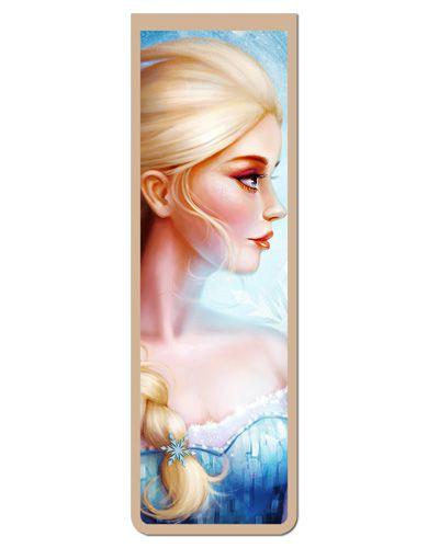 Marcador De Página Magnético Elsa Frozen - Disney - MPD06