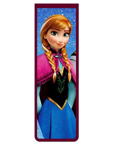 Marcador De Página Magnético Anna Frozen - Disney - MPD10