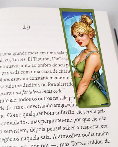 Marcador De Página Magnético Tinker Bell - Disney - MPD21