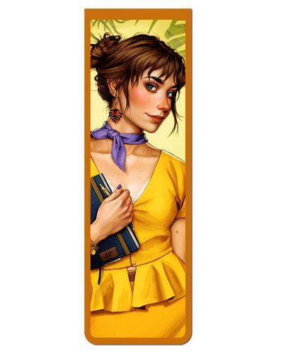 Marcador De Página Magnético Jane - Disney - MPD31
