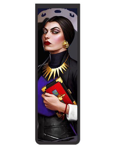 Marcador De Página Magnético Evil Queen - Disney - MPD32