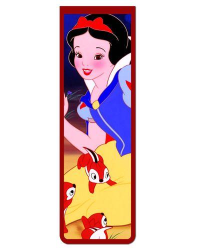 Marcador De Página Magnético Branca de Neve - Disney - MPD70