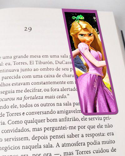 Marcador De Página Magnético Rapunzel - Disney - MPD80