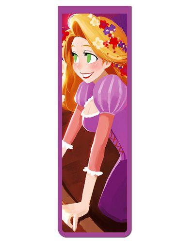 Marcador De Página Magnético Rapunzel - Disney - MPD81