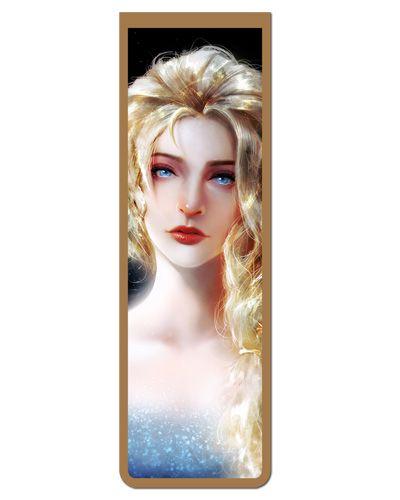 Marcador De Página Magnético Elsa Frozen - Disney - MPD142