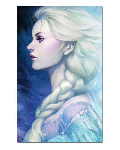 Ímã Decorativo Elsa Frozen - Disney - IPD41