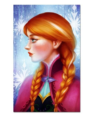 Ímã Decorativo Anna Frozen - Disney - IPD43