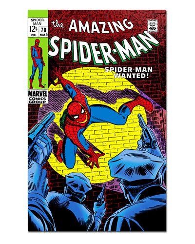 Ímã Decorativo Capa de Quadrinhos - Spider-Man - CQM05