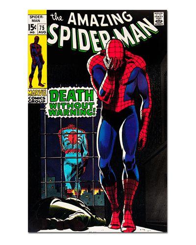 Ímã Decorativo Capa de Quadrinhos - Spider-Man - CQM10