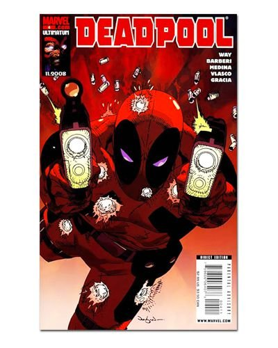 Ímã Decorativo Capa de Quadrinhos Deadpool - CQM34