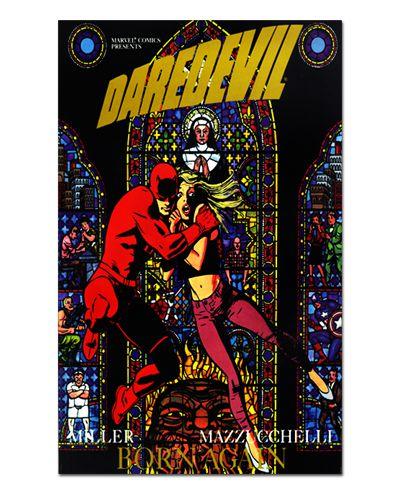 Ímã Decorativo Capa de Quadrinhos - Demolidor - CQM41