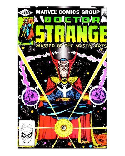 Ímã Decorativo Capa de Quadrinhos - Doutor Estranho - CQM57