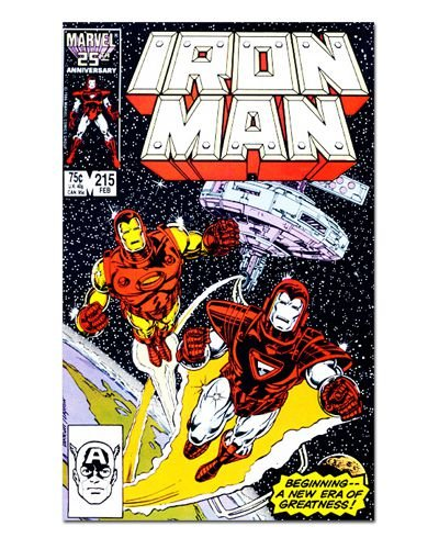 Ímã Decorativo Capa de Quadrinhos - Iron Man - CQM64