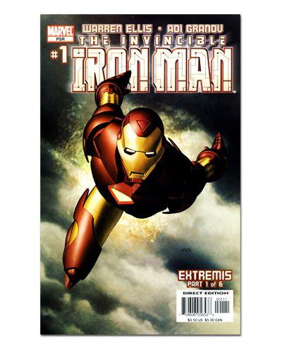 Ímã Decorativo Capa de Quadrinhos - Iron Man - CQM70