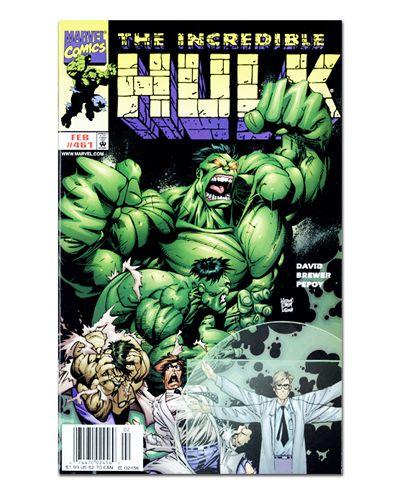 Ímã Decorativo Capa de Quadrinhos - Hulk - CQM71