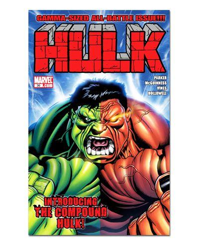Ímã Decorativo Capa de Quadrinhos - Hulk - CQM73