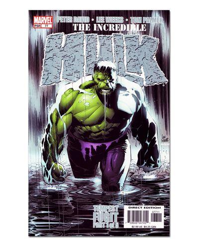 Ímã Decorativo Capa de Quadrinhos - Hulk - CQM76