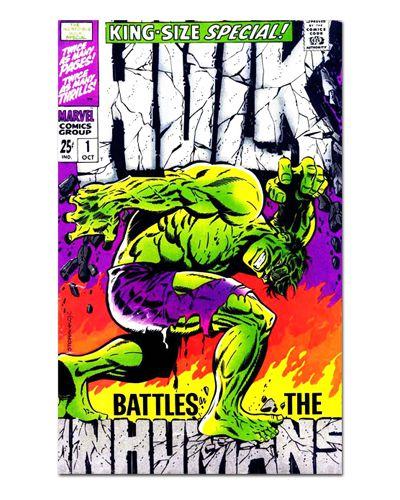 Ímã Decorativo Capa de Quadrinhos - Hulk - CQM77