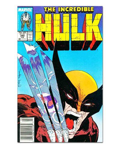 Ímã Decorativo Capa de Quadrinhos - Hulk - CQM78