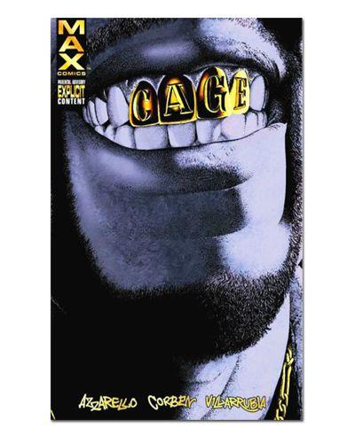Ímã Decorativo Capa de Quadrinhos - Luke Cage - CQM106