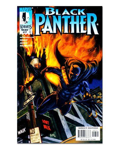 Ímã Decorativo Capa de Quadrinhos - Pantera Negra - CQM112