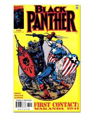 Ímã Decorativo Capa de Quadrinhos - Pantera Negra - CQM116