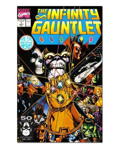 Ímã Decorativo Capa de Quadrinhos - Sagas Marvel - CQM144