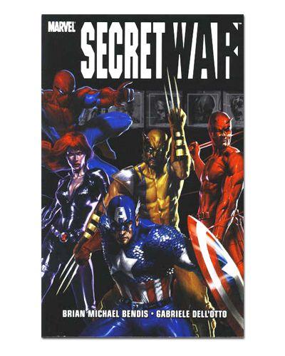 Ímã Decorativo Capa de Quadrinhos - Sagas Marvel - CQM147