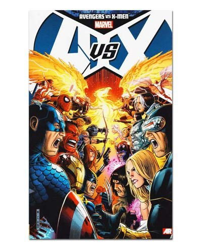 Ímã Decorativo Capa de Quadrinhos - Sagas Marvel - CQM148