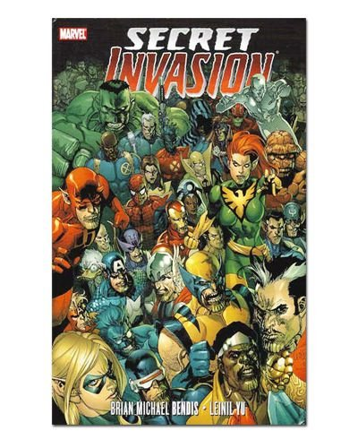 Ímã Decorativo Capa de Quadrinhos - Sagas Marvel - CQM149