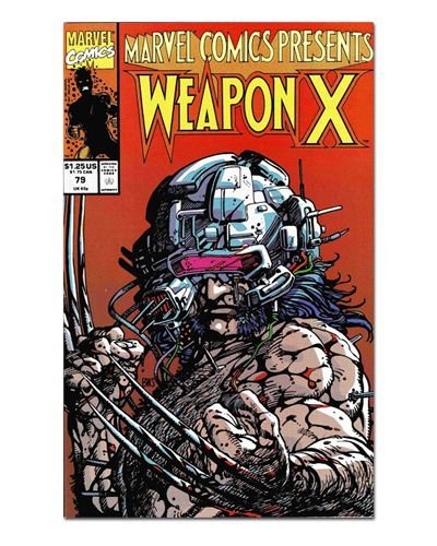 Ímã Decorativo Capa de Quadrinhos - Wolverine - CQM163