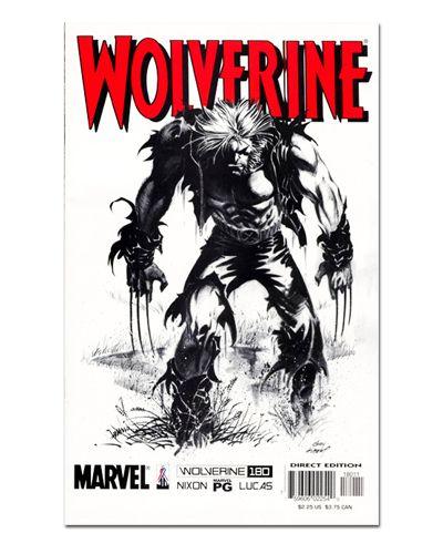 Ímã Decorativo Capa de Quadrinhos - Wolverine - CQM170
