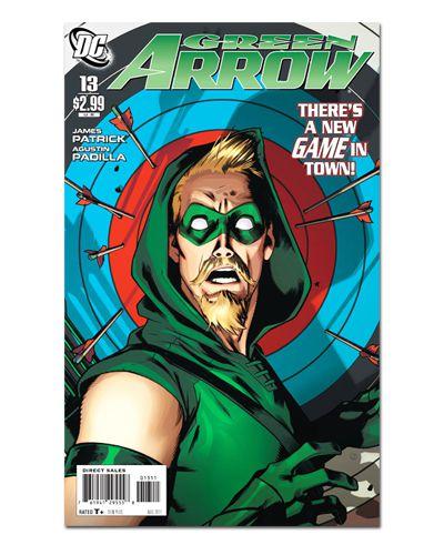 Ímã Decorativo Capa de Quadrinhos - Arqueiro Verde - CQD01