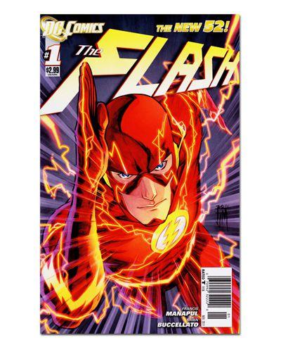 Ímã Decorativo Capa de Quadrinhos - The Flash - CQD33