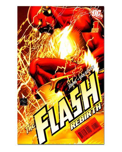 Ímã Decorativo Capa de Quadrinhos - The Flash - CQD34