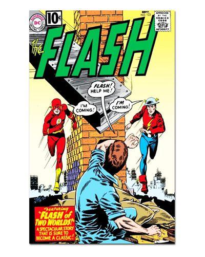 Ímã Decorativo Capa de Quadrinhos - The Flash - CQD35