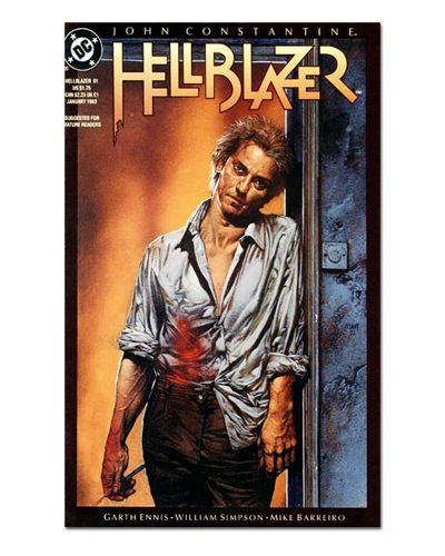 Ímã Decorativo Capa de Quadrinhos - Hellblazer - CQD54