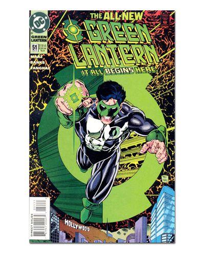Ímã Decorativo Capa de Quadrinhos - Lanterna Verde - CQD62