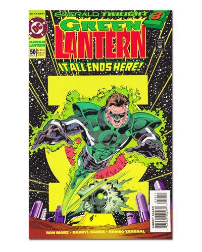 Ímã Decorativo Capa de Quadrinhos - Lanterna Verde - CQD64