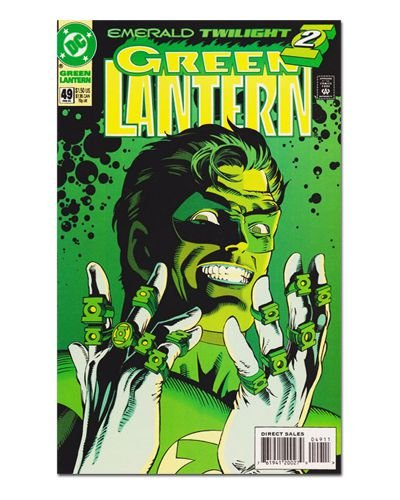Ímã Decorativo Capa de Quadrinhos - Lanterna Verde - CQD65