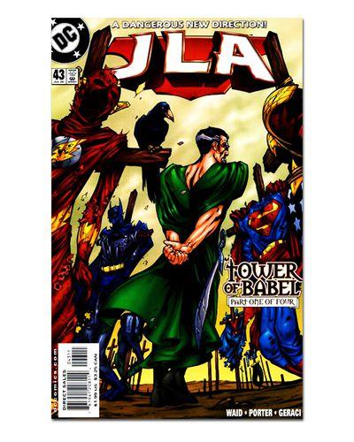 Ímã Decorativo Capa de Quadrinhos - Liga da Justiça - CQD74