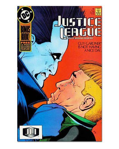 Ímã Decorativo Capa de Quadrinhos - Liga da Justiça Internacional - CQD87