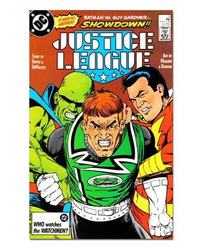 Ímã Decorativo Capa de Quadrinhos - Liga da Justiça Internacional - CQD90