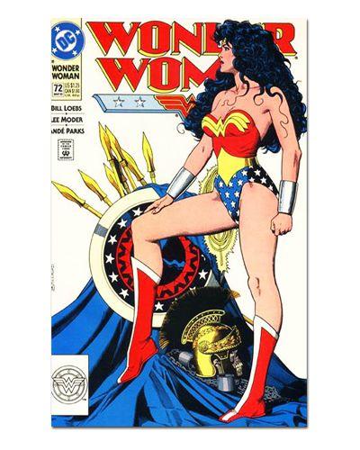 Ímã Decorativo Capa de Quadrinhos Mulher-Maravilha - CQD106